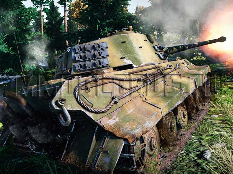 Мод для world of tanks на графику