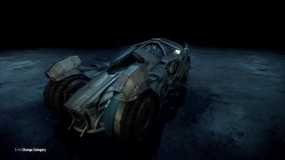 Prototype Batmobile