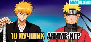 Лучшие аниме-игры