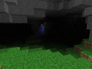 Minecraft пещера