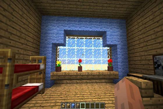 minecraft дом