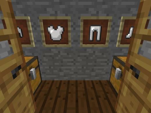minecraft картины