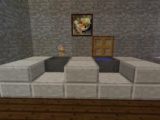 minecraft ванная