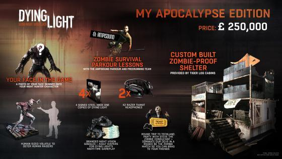 Dying Light My Apocalypse Edition - издание Мой Апокалипсис