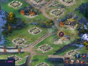начало постройки королевства Throne: Kingdom at War