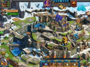 скриншот Vikings: War of Clans