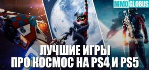 Лучшие игры про космос для PS4 и PS5